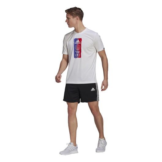 adidas Primeblue Designed To Move Sport 3-Stripes Erkek Şort