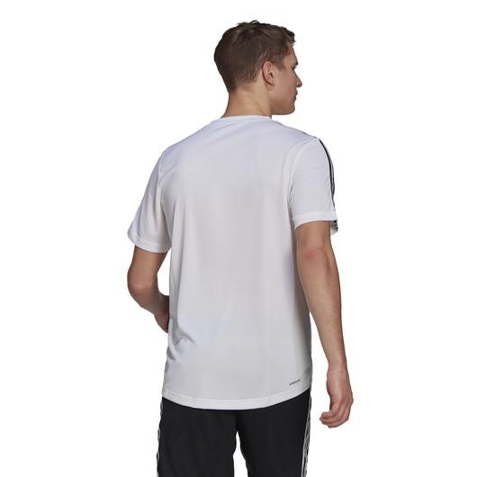 adidas AEROREADY Designed To Move Sport 3-Stripes Short-Sleeve Erkek Tişört