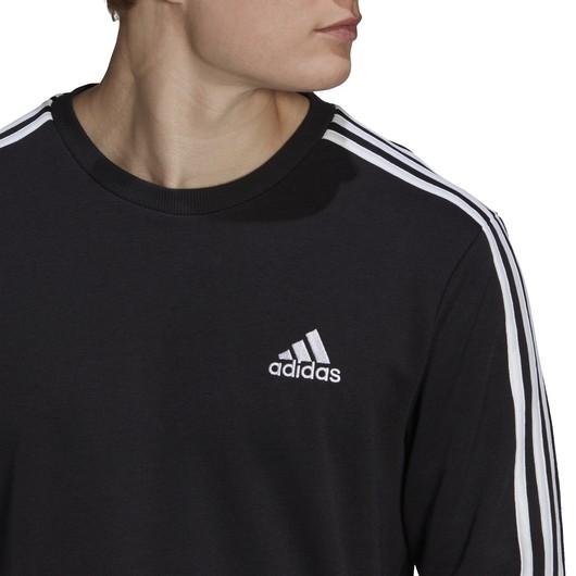 adidas 3-Stripes French Terry Erkek Sweatshirt