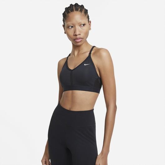Nike Indy V Neck Light-Support Sports Kadın Büstiyer