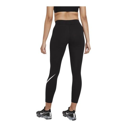 Nike Sportswear Essential Mid-Rise Swoosh Kadın Tayt