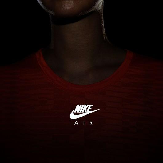 Nike Air Short Sleeve Running Top Kadın Tişört