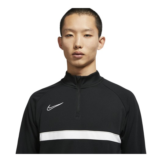 Nike Dri-Fit Academy Football Drill Half-Zip Long-Sleeve Erkek Tişört