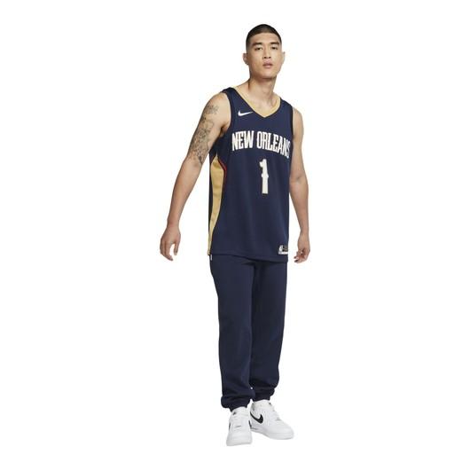 Nike Zion Williamson Pelicans Icon Edition 2020 NBA Swingman Jersey Erkek Forma