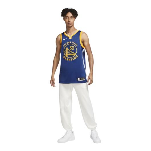 Nike Stephen Curry Warriors Icon Edition 2020 NBA Swingman Jersey Erkek Forma