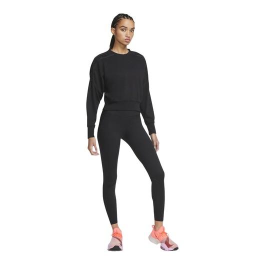Nike Cropped Fleece Laced Training Crew Kadın Sweatshirt
