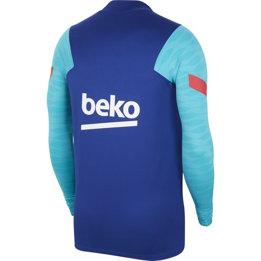 Nike FC Barcelona Dri-Fit Strike Drill Top Long-Sleeve Erkek Tişört