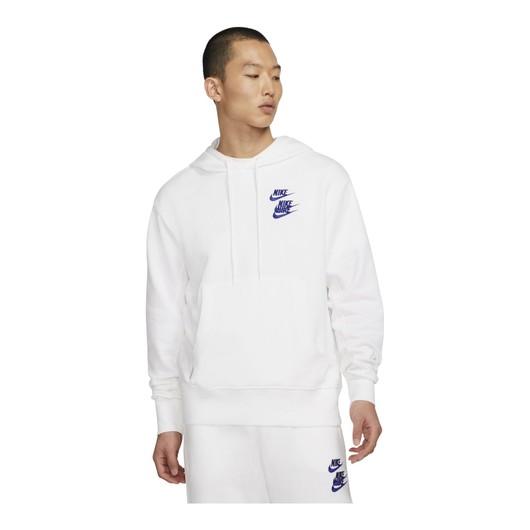 Nike Sportswear Pullover French Terry World Tour Hoodie Erkek Sweatshirt