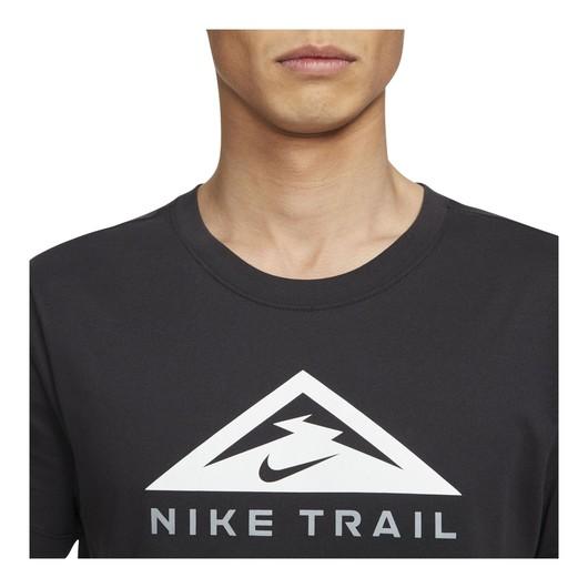 Nike Dri-Fit Trail Running Short-Sleeve Erkek Tişört
