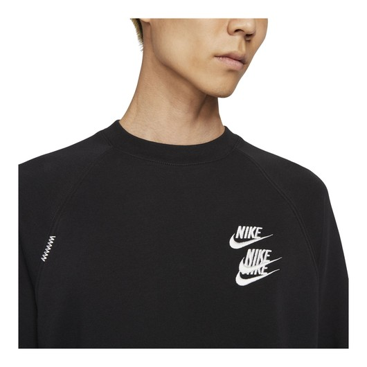 Nike Sportswear French Terry Worldtour Crew Erkek Sweatshirt