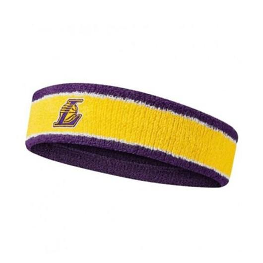 Nike Los Angeles Lakers Amarillo NBA Shooter Unisex Saç Bandı