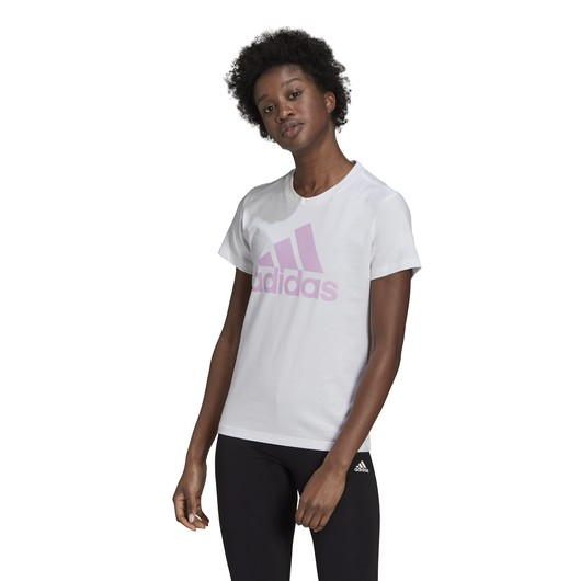 adidas LOUNGEWEAR Essentials Logo Short-Sleeve Kadın Tişört