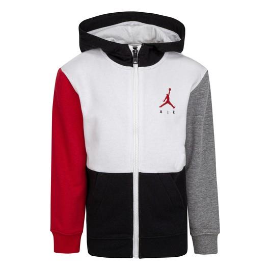 Nike Jordan Jumpman Air French Terry Full-Zip Hoodie (Boys) Çocuk Sweatshirt