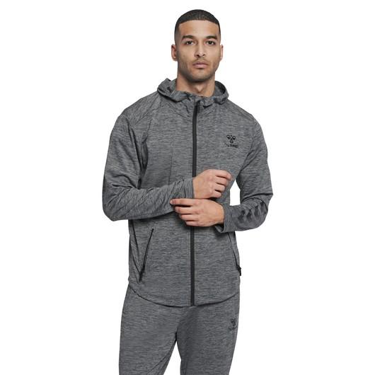 Hummel Aston Full-Zip Hoodie Erkek Sweatshirt