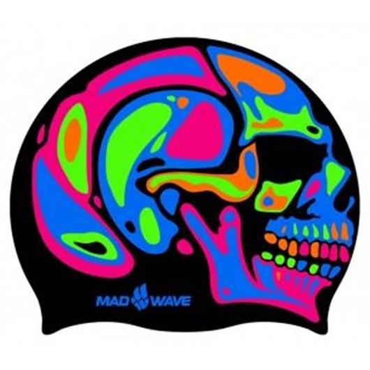 Mad Wave Rainbow Skull Silikon Unisex Bone