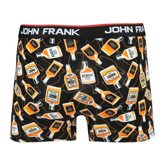 John Frank Tenessey Digital Printing Erkek Boxer