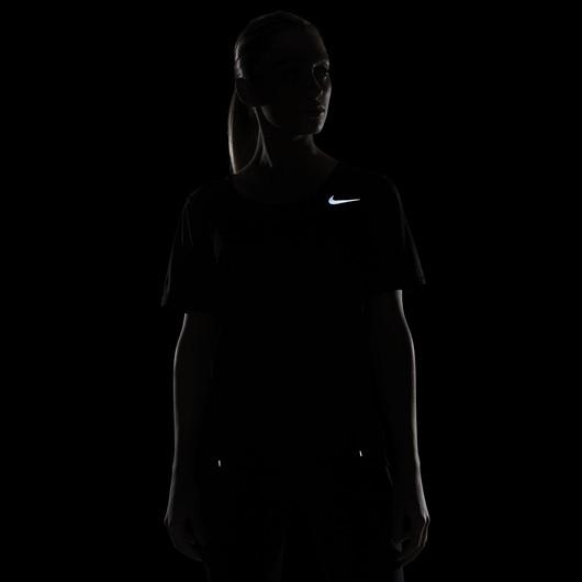 Nike City Sleek Short-Sleeve Running Top Kadın Tişört