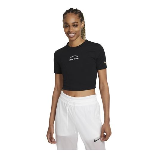 Nike Sportswear Crop Slim Short-Sleeve Kadın Tişört