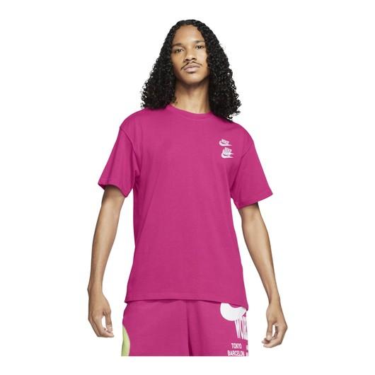 Nike Sportswear World Tour 2 Short-Sleeve Erkek Tişört