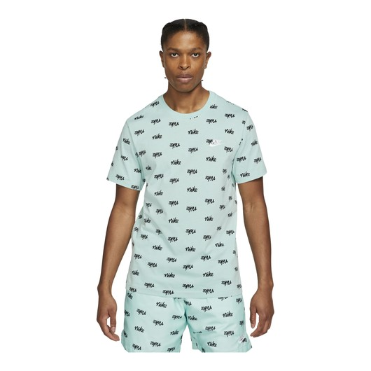 Nike Sportswear Printed Club LBR Short-Sleeve Erkek Tişört