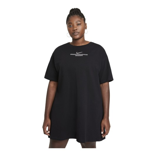 Nike Sportswear Swoosh Short-Sleeve Kadın Elbise
