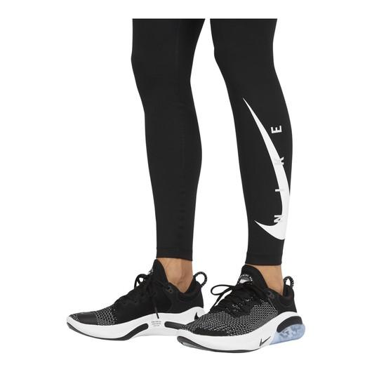 Nike Swoosh Run Running Leggings (Plus Size) Kadın Tayt