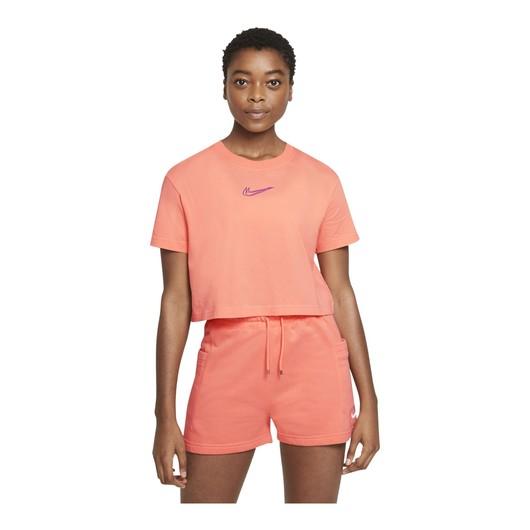 Nike Sportswear Cropped Dance Short-Sleeve Kadın Tişört