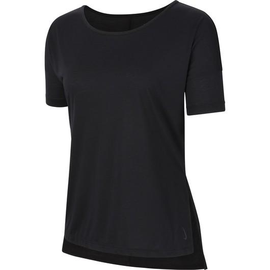 Nike Yoga Short-Sleeve Kadın Tişört