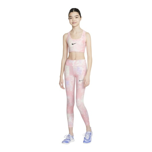 Nike Swoosh Tie-Dye Reversible Printed (Girls') Çocuk Büstiyer