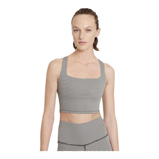 Nike Yoga Cropped Gingham Kadın Atlet