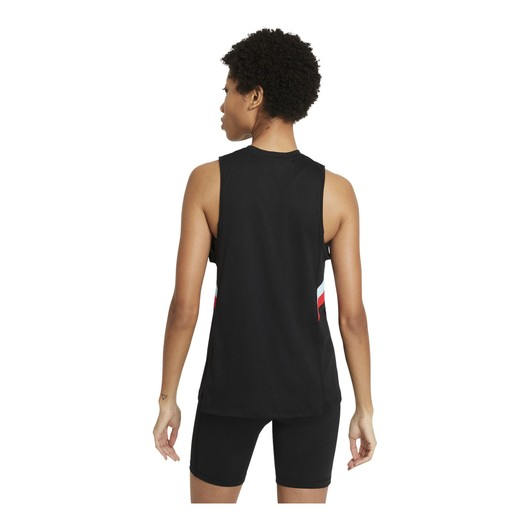 Nike Dri-Fit Color-Block Stripe Training Kadın Atlet