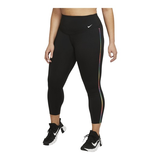 Nike One Rainbow Ladder Mid-Rise 7/8 Leggings Kadın Tayt