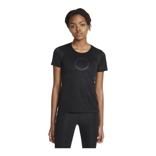Nike Run Icon Clash Short-Sleeve Running Top Kadın Tişört