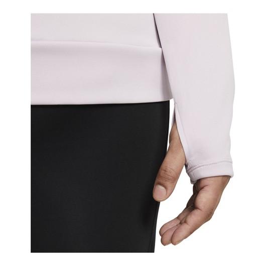 Nike Swoosh Running Half-Zip Long-Sleeve Kadın Tişört