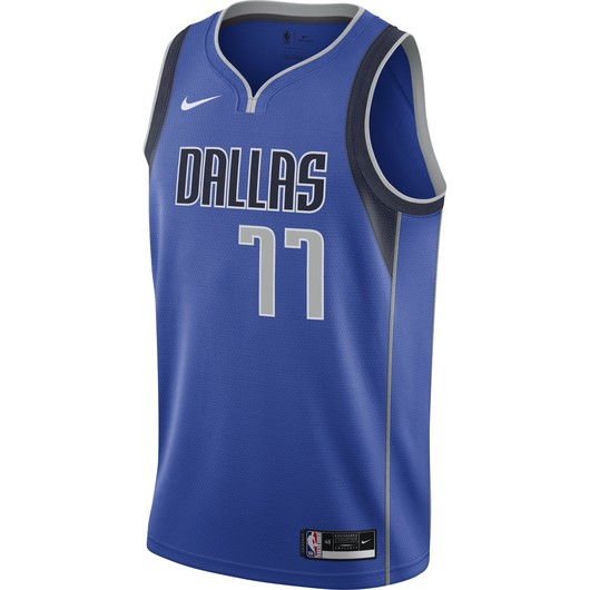 Nike NBA Luka Doncic Mavericks Icon Edition 2020 Swingman Jersey Erkek Forma