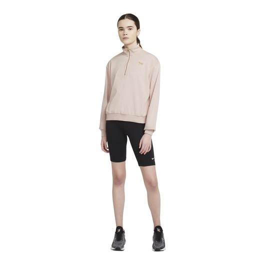 Nike Sportswear Femme 1/4-Zip Fleece Kadın Sweatshirt