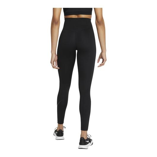 Nike One Icon Clash Mid-Rise 7/8 Graphic Leggings Kadın Tayt