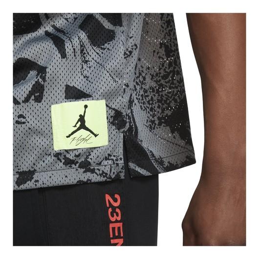 Nike Jordan Flight Printed Short-Sleeve Button Down Erkek Tişört