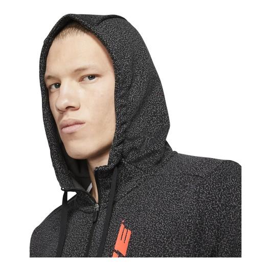 Nike Dri-Fit Sport Clash Full-Zip Printed Training Hoodie Erkek Sweatshirt