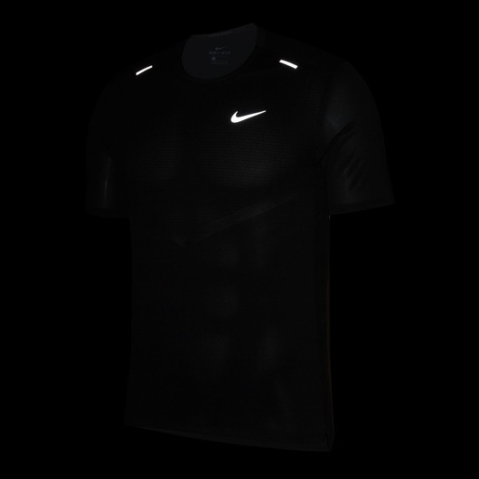 Nike Dri-Fit Rise 365 Short-Sleeve Running Top Erkek Tişört
