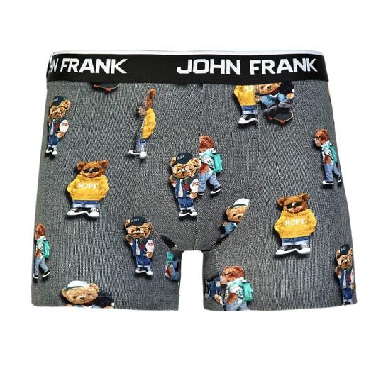 John Frank Cool Teddy Di̇gi̇tal Printing Erkek Boxer