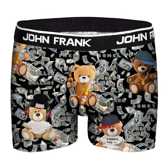 John Frank Rich Teddy Di̇gi̇tal Printing Erkek Boxer