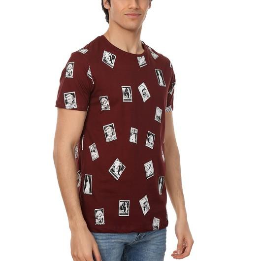 John Frank Blonde Di̇gi̇tal Printing Erkek Tişört