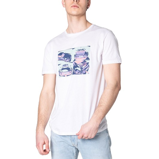 John Frank Cool Car Erkek Tişört