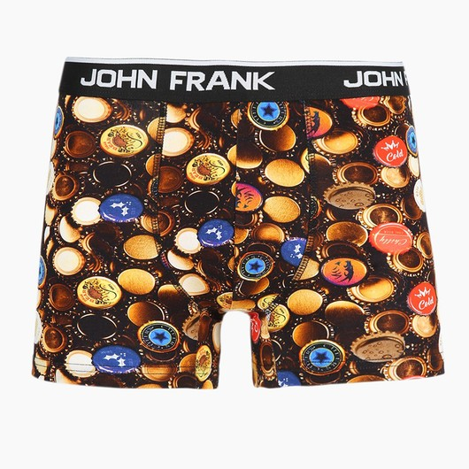 John Frank Caps Di̇gi̇tal Printing Erkek Boxer