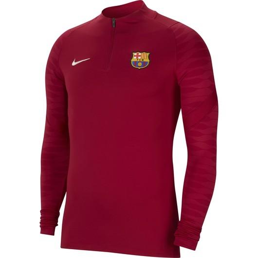 Nike F.C. Barcelona Strike Football Drill Long-Sleeve Erkek Tişört