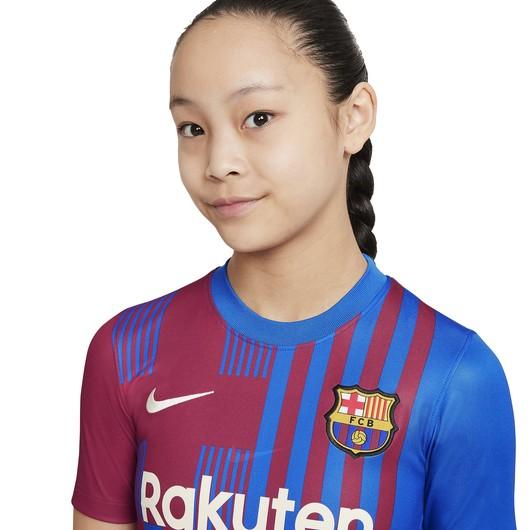 Nike FC Barcelona 2021-2022 Stadyum İç Saha Çocuk Forma
