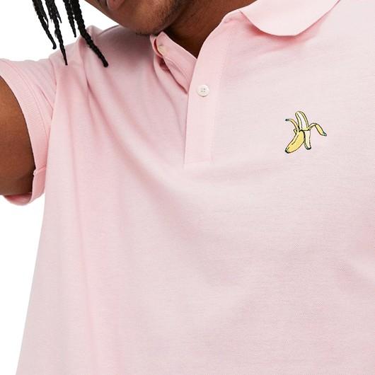 John Frank Identity Banana Polo Erkek Tişört