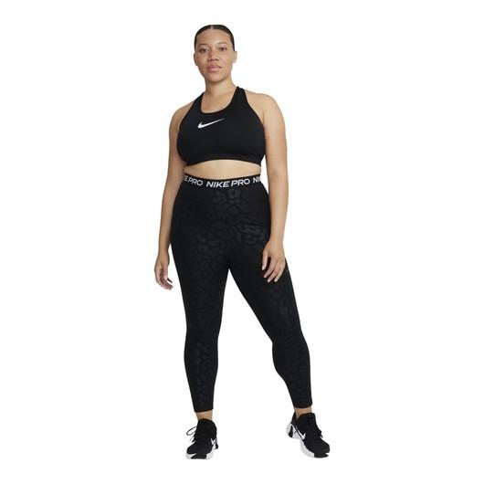 Nike Pro Dri-Fit Lepard Shine Printed High-Waisted 7/8 Kadın Tayt