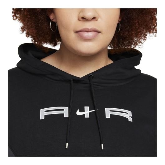 Nike Sportswear Air Mock Fleece Hoodie Kadın Sweatshirt